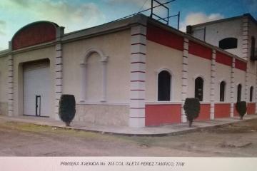 Foto de nave industrial en venta en 1a avenida 205, isleta perez, tampico, tamaulipas, 0 No. 01