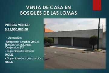 Foto de casa en venta en  26, bosques de las lomas, cuajimalpa de morelos, distrito federal, 2813035 No. 01
