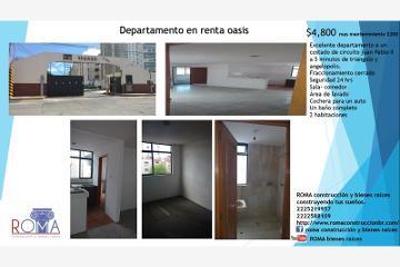 Foto de departamento en renta en  2704, el vergel, puebla, puebla, 2682418 No. 01