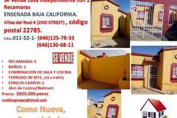 Foto de casa en venta en Villas del Real 2a Sección, Ensenada, Baja California, 4636096,  no 01