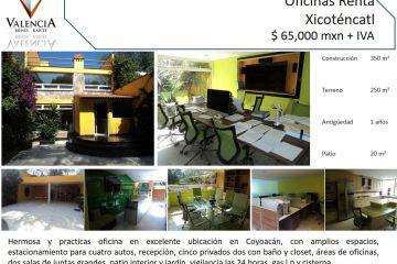 Foto de oficina en renta en Del Carmen, Coyoacán, Distrito Federal, 2844959,  no 01