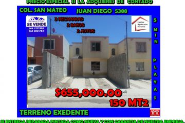 Foto de casa en venta en Agua Caliente, Tijuana, Baja California, 1035065,  no 01