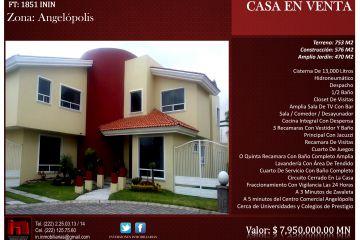 Foto de casa en venta en Morillotla, San Andrés Cholula, Puebla, 1758045,  no 01