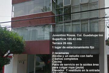 Foto principal de departamento en venta en juventino rosas, guadalupe inn 2805672.