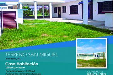 Foto de terreno habitacional en venta en San Miguel, General Escobedo, Nuevo León, 2976334,  no 01