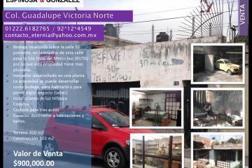 Foto de bodega en venta en Guadalupe Victoria Norte, Puebla, Puebla, 1320985,  no 01