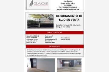 Foto de departamento en venta en  91, álamos, benito juárez, distrito federal, 2990572 No. 01
