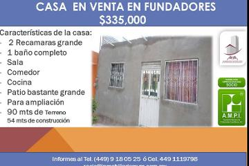 Foto de casa en venta en Fundadores, Aguascalientes, Aguascalientes, 3061972,  no 01