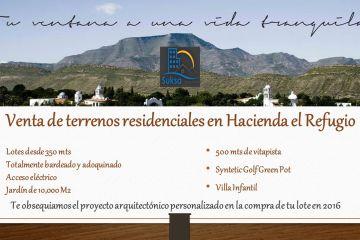 Foto de terreno habitacional en venta en Hacienda del Refugio, Saltillo, Coahuila de Zaragoza, 2404288,  no 01