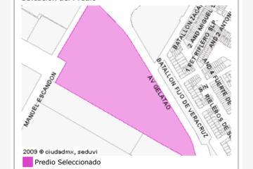 Foto de terreno habitacional en venta en avenida guelatao , chinampac de juárez, iztapalapa, distrito federal, 0 No. 01