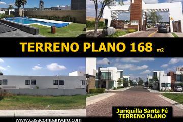 Foto de terreno habitacional en venta en avenida santa fe , juriquilla santa fe, querétaro, querétaro, 0 No. 01