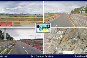 Foto de terreno industrial en venta en Chachapa, Amozoc, Puebla, 4507391,  no 01