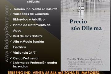 Foto de terreno industrial en venta en  , calamanda, el marqués, querétaro, 2883207 No. 01