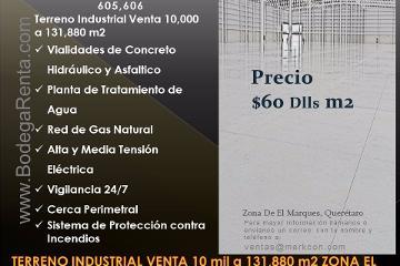 Foto de terreno industrial en venta en  , calamanda, el marqués, querétaro, 2884963 No. 01