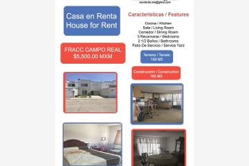 Foto de casa en renta en campo real 1, campo real, irapuato, guanajuato, 2540075 No. 01
