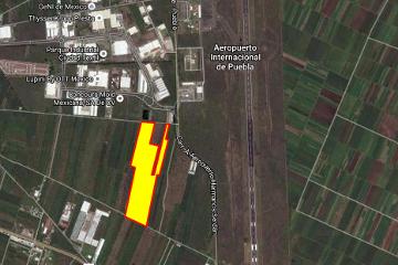 Foto de terreno industrial en venta en carlos i betancourt, carretera aeropuerto-huejotzingo, a un costado del parque textil 0, magisteria, huejotzingo, puebla, 2857461 No. 01