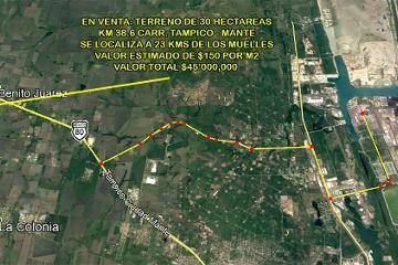 Foto de terreno habitacional en venta en carretera tampico mante , altamira, altamira, tamaulipas, 0 No. 01