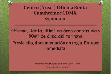 Foto de oficina en renta en  , centro (área 1), cuauhtémoc, distrito federal, 943825 No. 01