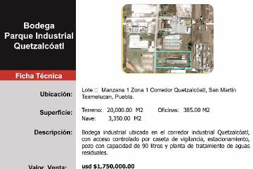 Foto de nave industrial en venta en  , centro, san martín texmelucan, puebla, 1144503 No. 01