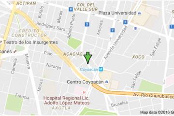 Foto de cuarto en renta en Acacias, Benito Juárez, Distrito Federal, 2099709,  no 01