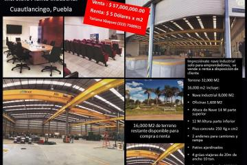 Foto de nave industrial en venta en  , cuautlancingo, cuautlancingo, puebla, 2354524 No. 01