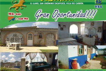 Foto de casa en venta en Llano de Zacapexco, Villa del Carbón, México, 2470056,  no 01