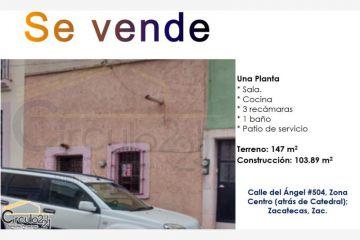 Foto de casa en venta en del ángel 504, zacatecas centro, zacatecas, zacatecas, 2390998 no 01
