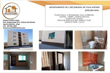 Foto de departamento en venta en edificio j 80, natura, aguascalientes, aguascalientes, 4657331 No. 01