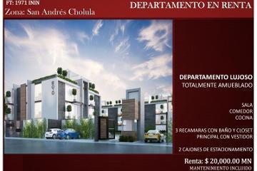 Foto de departamento en renta en  , el barreal, san andrés cholula, puebla, 2705807 No. 01