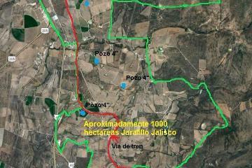 Foto de terreno industrial en venta en  , el jaralillo, encarnación de díaz, jalisco, 4555638 No. 01