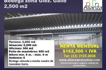 Foto de nave industrial en renta en  , el rosario, guadalajara, jalisco, 1969425 No. 01