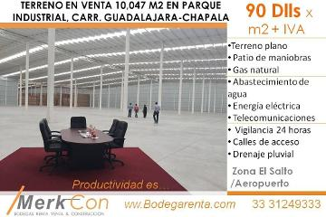 Foto de terreno industrial en venta en  , el zapote del valle, tlajomulco de zúñiga, jalisco, 3595161 No. 01