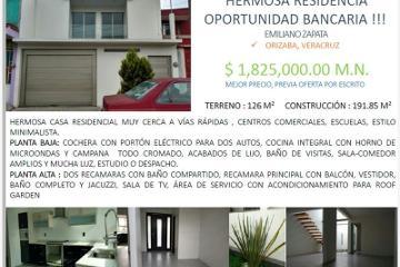 Foto de casa en venta en # #, emiliano zapata sur, orizaba, veracruz de ignacio de la llave, 2675944 No. 01