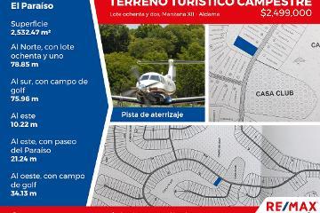 Foto de terreno habitacional en venta en fraccionamiento el paraíso 12, aldama, aldama, tamaulipas, 4412751 No. 01