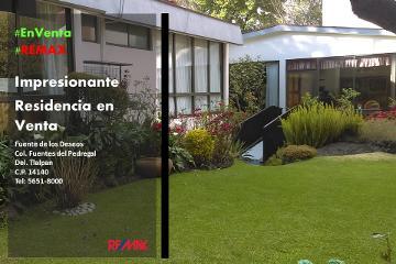 Foto de casa en venta en fuente de los deseos 8, fuentes del pedregal, tlalpan, distrito federal, 2880467 No. 01