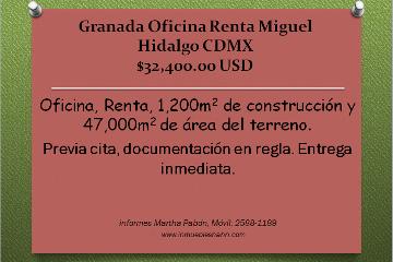 Foto de oficina en renta en  , granada, miguel hidalgo, distrito federal, 1292323 No. 01