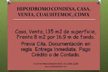 Foto de casa en venta en  , hipódromo condesa, cuauhtémoc, distrito federal, 2592731 No. 01