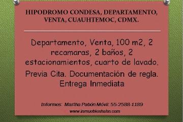 Foto de departamento en venta en  , hipódromo, cuauhtémoc, distrito federal, 2251143 No. 01