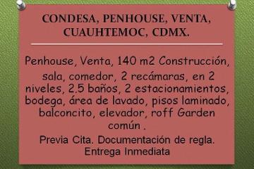 Foto de departamento en venta en  , hipódromo, cuauhtémoc, distrito federal, 2460265 No. 01