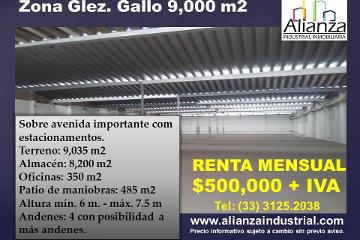 Foto de nave industrial en renta en  , la aurora, guadalajara, jalisco, 2722838 No. 01