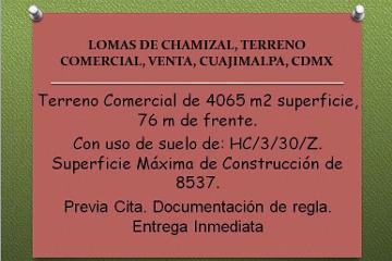 Foto de terreno comercial en venta en  , lomas del chamizal, cuajimalpa de morelos, distrito federal, 2530178 No. 01