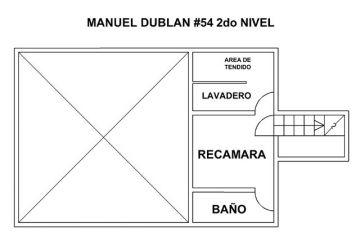 Foto de casa en renta en manuel dublan 54 int2, esq con gaviota y periferico, tacubaya, miguel hidalgo, df, 2390070 no 01