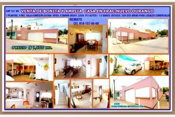 Foto de casa en venta en  , nuevo durango i, durango, durango, 2654904 No. 01