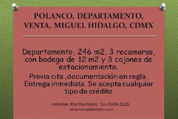 Foto de departamento en venta en  , polanco i sección, miguel hidalgo, distrito federal, 2089860 No. 01