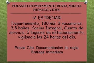 Foto de departamento en renta en  , polanco v sección, miguel hidalgo, distrito federal, 2575657 No. 01