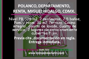 Foto de departamento en renta en  , polanco v sección, miguel hidalgo, distrito federal, 2576191 No. 01