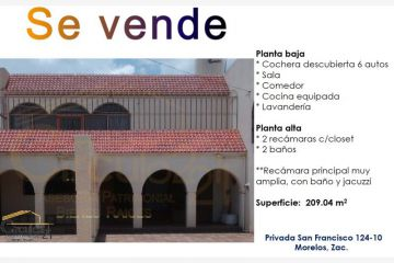 Foto de casa en venta en privada san francisco 12410, california, morelos, zacatecas, 2391164 no 01