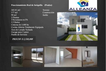 Foto de casa en venta en  , real de juriquilla, querétaro, querétaro, 2178893 No. 01