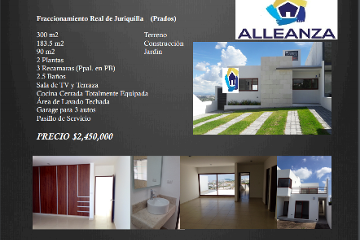 Foto de casa en venta en  , real de juriquilla, querétaro, querétaro, 2180855 No. 01