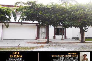 Foto de casa en renta en  , real vista hermosa iii, colima, colima, 2585720 No. 01